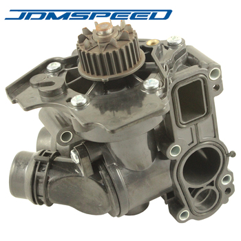 Free Shipping-New Water Pump Thermostat Assembly 06H121026T 06H121026AB For VW Golf Jetta GTI Passat Tiguan 1.8T 2.0T