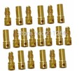 10pairs 3.5mm Gold Bullet Connector plug Align Trex 450 250 Male Female 3MM