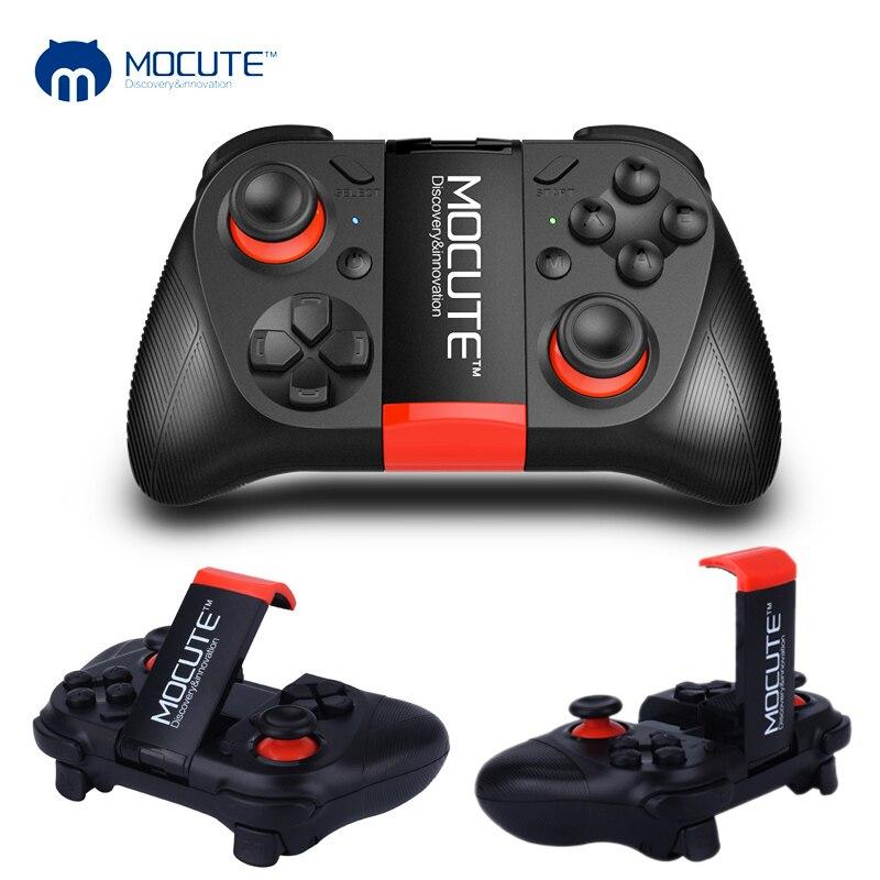 MOCUTE 050 VR Gamepad Android Bluetooth Joystick Controller di Gioco Portatile Pad Selfie Shutter Remote Control per PC Smart Phone