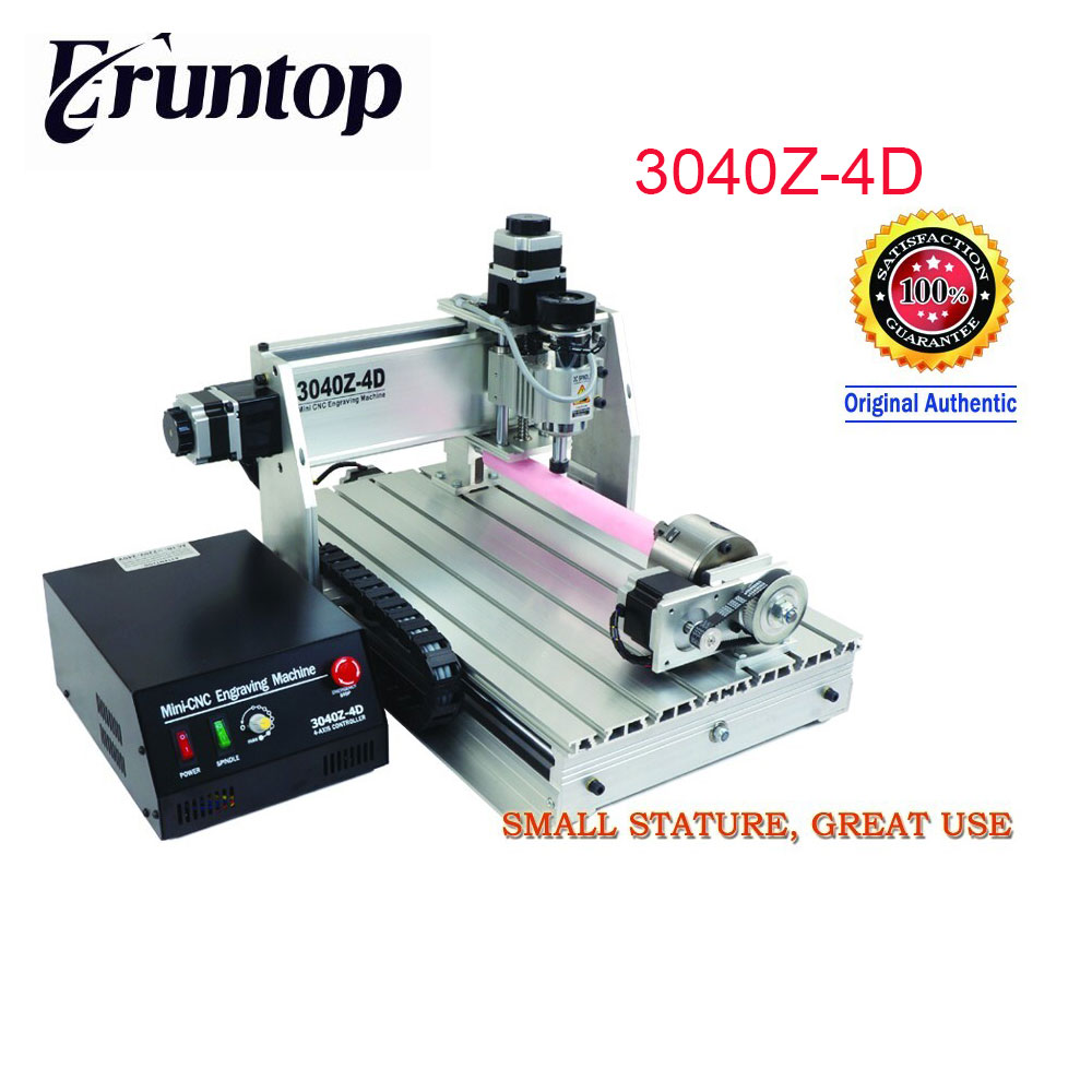 220V/110V 4 axis New USB Mach3 4030Z 3040 800W CNC Router Engraver Engraving Machine 110v 220v 4 axis mini cnc am3040 engraver carving engraving router machine
