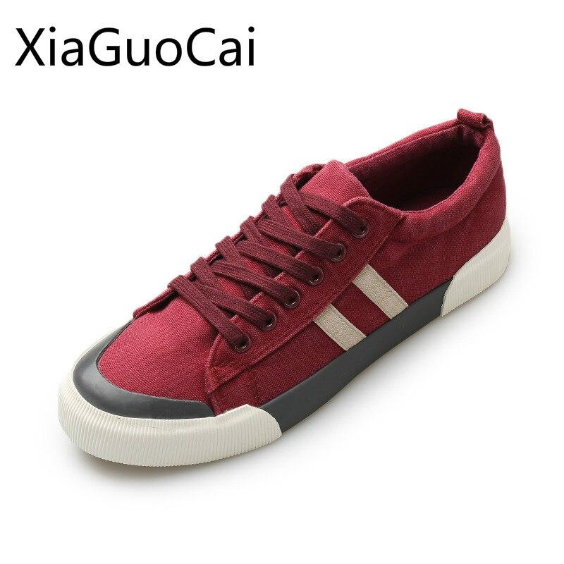 Мужские парусиновые кроссовки, дышащие повседневные кроссовки высокого качества на весну и осень Повседневная обувь      АлиЭкспресс