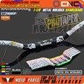 """Pro Taper Guidão de Metal Mulisha de Grandes Dimensões 1 1/8 """"28mm de Gordura Bar Para A Motocicleta KTM CRF YZF RMZ WRF KXF Enduro Da Bicicleta Da Sujeira"""
