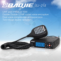 BaoJie BJ-218 Car Walkie Talkie Radios Comunicador Long Range Mini Mobile Radio Transceiver VHF/UHF Ham CB Radio