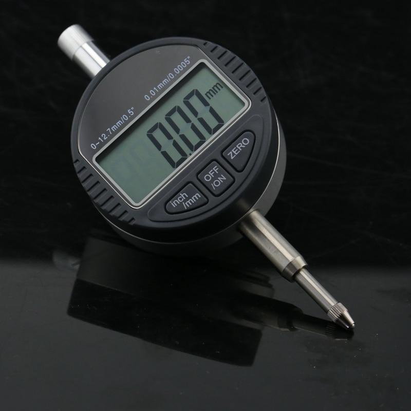 0.01mm LCD電子ダイヤルインジケーターゲージ12.7mm / - 計測器 - 写真 3