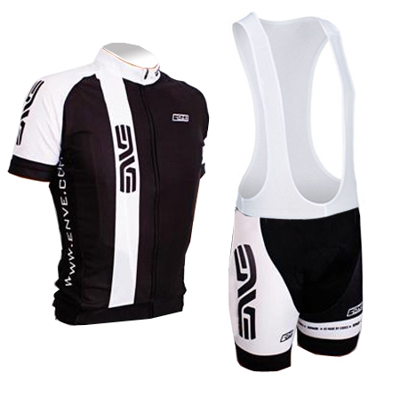 115693dc7 2015 enve black white Cycling jersey short sleeve and bib kits sport  clothing biker Ropa Ciclismo bicicletas