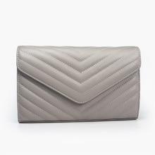 Классическая брендовая дизайнерская женская сумка через плечо, Высококачественная полосатая женская сумка через плечо из воловьей кожи, кошелек из натуральной кожи на каждый день