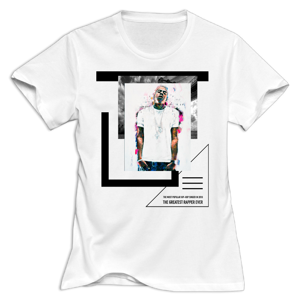 Jay z black t shirt white cross - Women Jay Z Life And Times Of S Carter Best Rapper Round Neck Girl Woman T Shirt O Neck Cotton Fashion Printed T Shirts