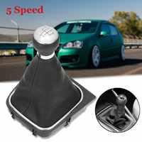 5/6 vitesse manuelle pommeau de levier de vitesse guêtre couverture de démarrage pour VW GOLF MK5 2003-2009 PLUS MK5 2005-2009 MK6 2008-2012