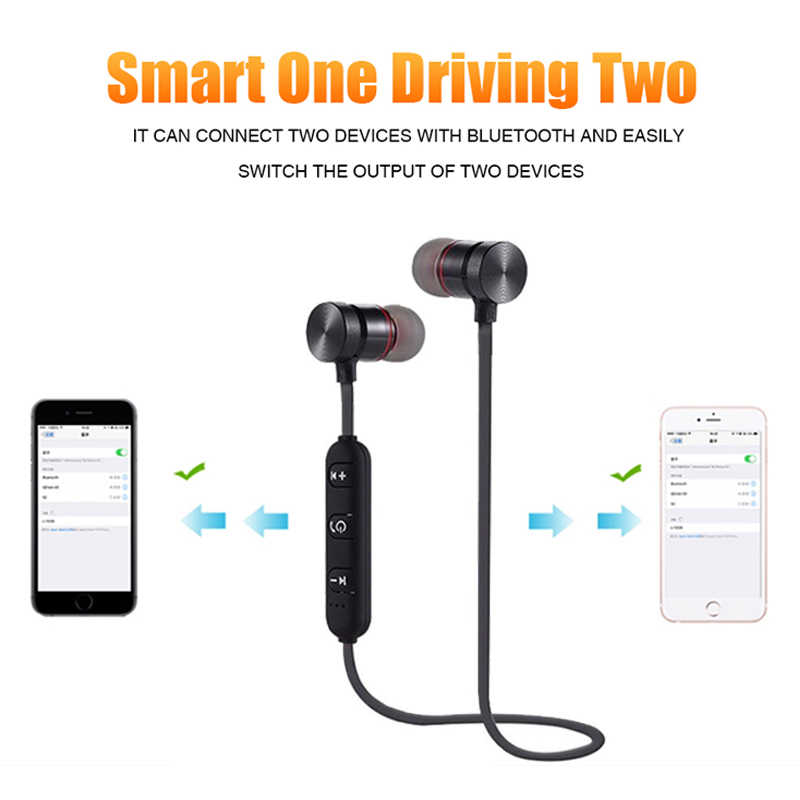 Bluetooth наушники для zte Axon 10 Pro 7 Mini 9 Pro 7S Nubia X M2 V18 Z17 Blade V10 V9 V7 Plus Z18 A6 беспроводная гарнитура