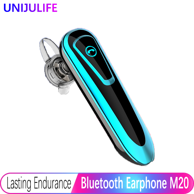 M20 Wireless Earphones Bluetooth Headphone Sweatproof Stereo Business Hands-free Headset With Mic For IPhone Xiaomi