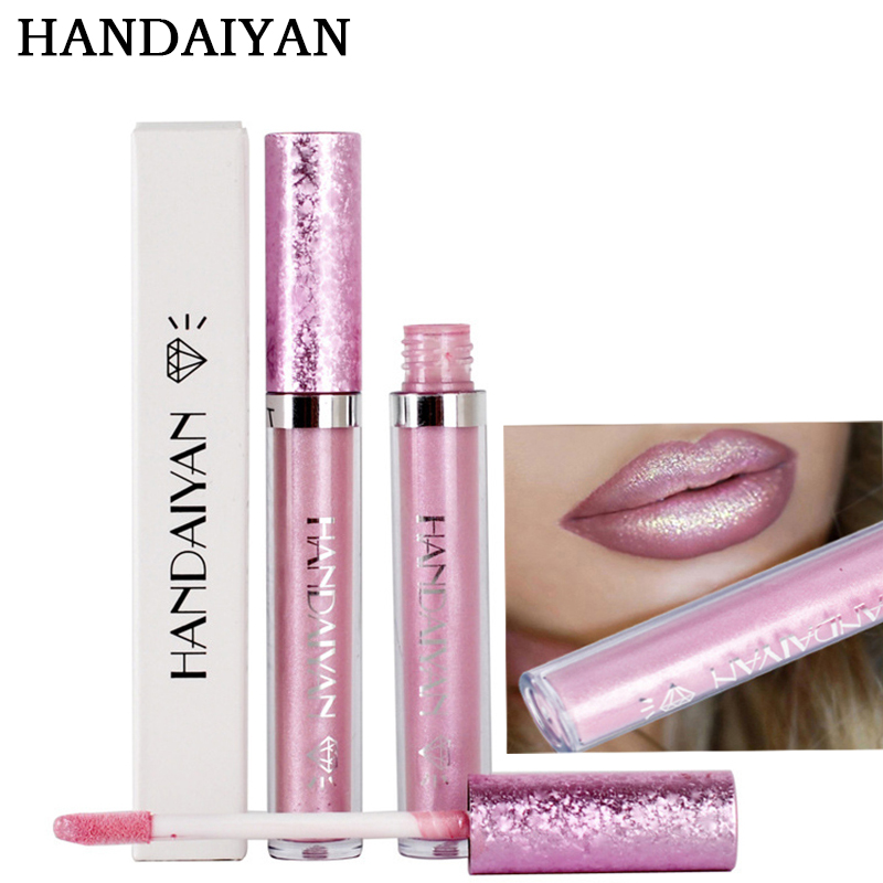 HANDAIYAN Hot Sexy lip gloss liquid metal lipstick
