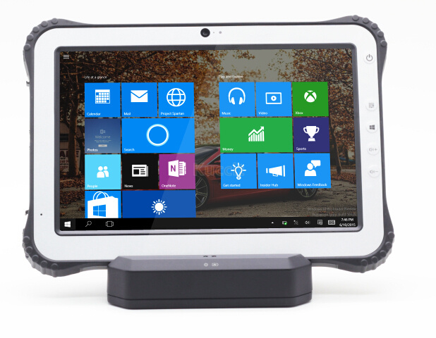 10.1 Industrial Rugged Tablet PC Windows 10 Waterproof phone NFC Reader 1D 2D Laser Barcode Scanner 4G Android Min Computer PC image