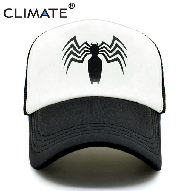 White Spider Black trucker hat 5c64fecf9cb6f