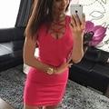 2016 Новый Летнее Платье сексуальная bodycon платья элегантный партия женщины Платье мода платье повязки Vestidos Де Festido Горячей продажи