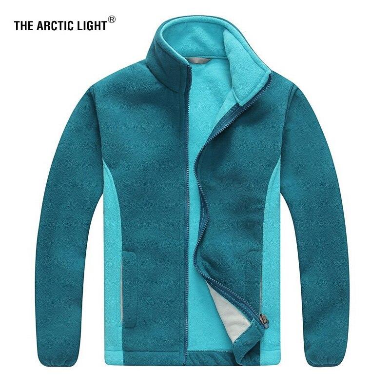 THE ARCTIC LIGHT Kid Polar Fleece Jacket Boys Girls Children Winter Hiking Camping Trekking Warm Sports Outdoor Windproof Coat