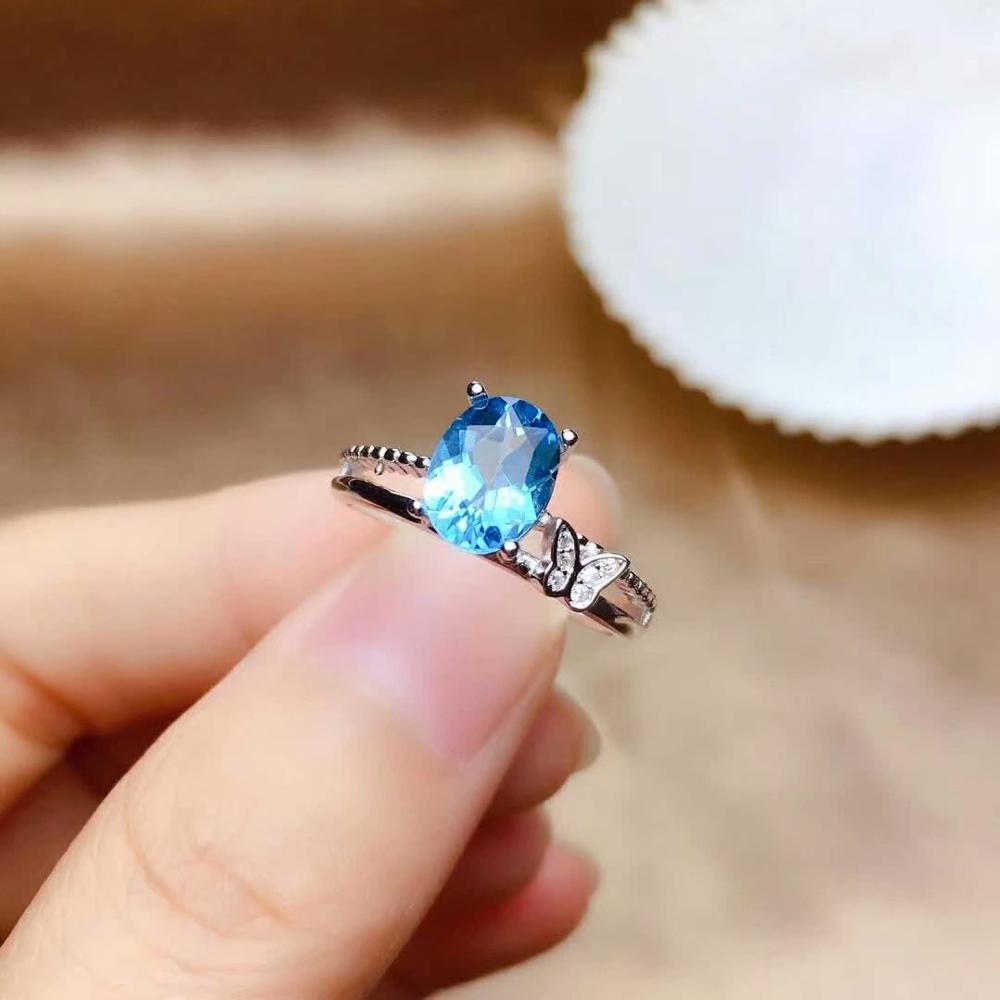 Shilovem 925 argent sterling anneaux topaze naturelle mignon bijoux fins femmes de mariage nouveau gros cadeau ouvert nouveau mj060899agb