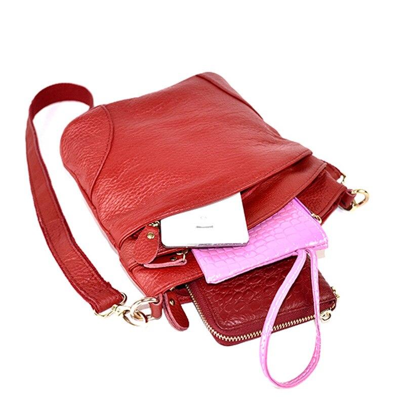 bolsas de couro crossbody sacolas Color : Wine Red, Dark Blue, Black, Khaki Grey, Lake Blue