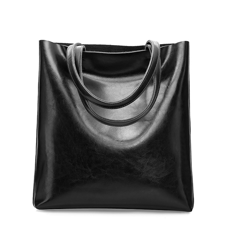 2018 Autumn Winter Luxury Genuine Leather Women s Shoulder Bags Fashion Retro Casual Lady Tote Bags