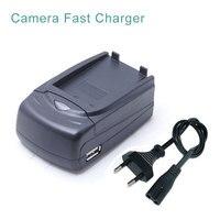 LP-E5 LPE5 LP E5 Batterij Auto + Desktop Snelle Camera Oplader Voor canon eos rebel xs t1i 450d 500d 1000d kiss f/x2/x3 power