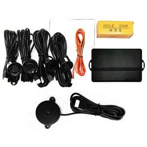 Image 2 - Système de capteur de stationnement de voiture alarme sonore universelle 22mm Radar inverse système dindicateur dalerte sonore n couleurs