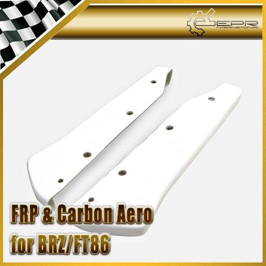 EPR Car Styling For BRZ FT86 GT86 FRS FRP Fiber Glass CS-Style Rear Spat Fiberglass Bumper Corner Accessories Racing Trim