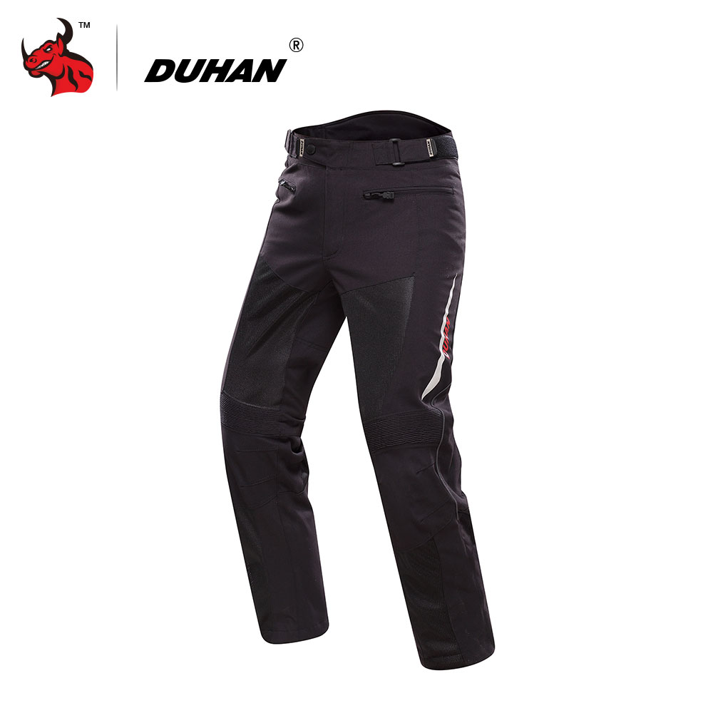 DUHAN Motorcycle Pants Men s Breathable Mesh Moto Pants Pantalon Trousers Protective Gear Riding Touring Motorbike