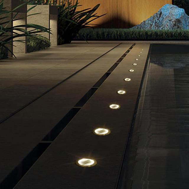 LED Solar Garden Ground Solar Light  1