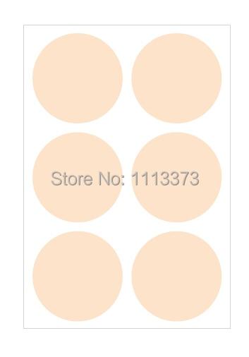 3cm pearl peach circle sticker seals round sticker self adhesive paper sticker wedding favor sticker envelope