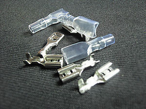 1000 pcs 2.8mm Crimp Terminal Femme Spade Connecteur + Case