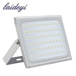 LAIDEYI 1Pcs Ultrathin LED Flood Light 500W ED Floodlight IP65 Waterproof 220V 500 watt LED Spotlight Outdoor Lighting