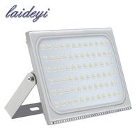LAIDEYI 1Pcs Ultrathin LED Flood Light 500W ED Floodlight IP65 Waterproof 220V 500 Watt LED Spotlight