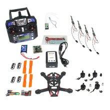 JMT QQ 150mm Mini RC Quadopter 3100KV Motor + OPTO 16A ESC + Flysky 6CH Transmitter +1000MAH Battery DIY FPV Drone