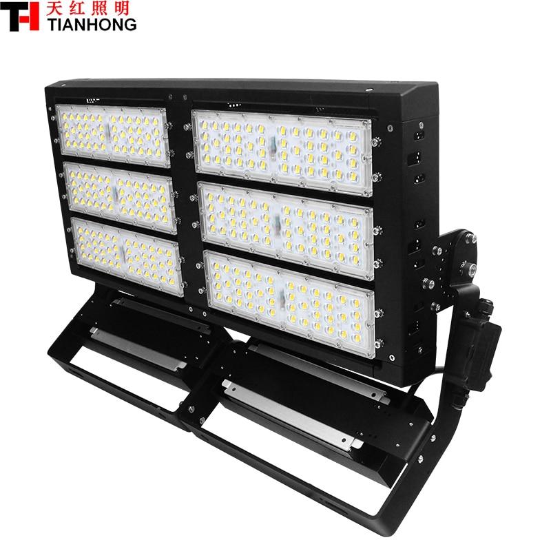 600 W LED Haute Mât Lampe LED stade éclairage LED lumière d'inondation AC85-265V LED haute-pôle lampe 600 W avec 85000lm