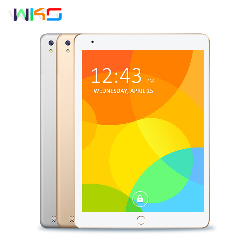 WKS 10.1 inch Android 6.0 Tablet PC Core 4GB RAM 32GB ROM 5MP WIFI GPS 3G WCDMA Phone Call Tablet 10 Phone Call Dual SIM Tablets free shipping 10 inch tablet pc 3g phone call octa core 4gb ram 32gb rom dual sim android tablet gps 1280 800 ips tablets 10 1
