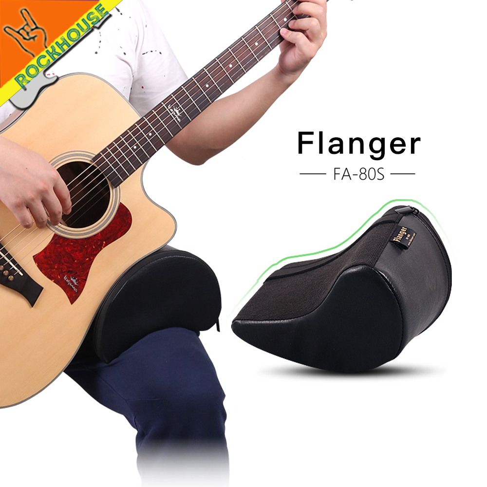 Flanger klassisk gitarrstöd Flamenco gitarrfotskolor Antiskid Durable Light Portable Free Shipping