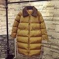 Зимняя Куртка Женщины Ватные Парки Сгущает Широкий талией Плюс Размер Женщин Пальто Тепло Ватные Зимняя Куртка Fc-2315