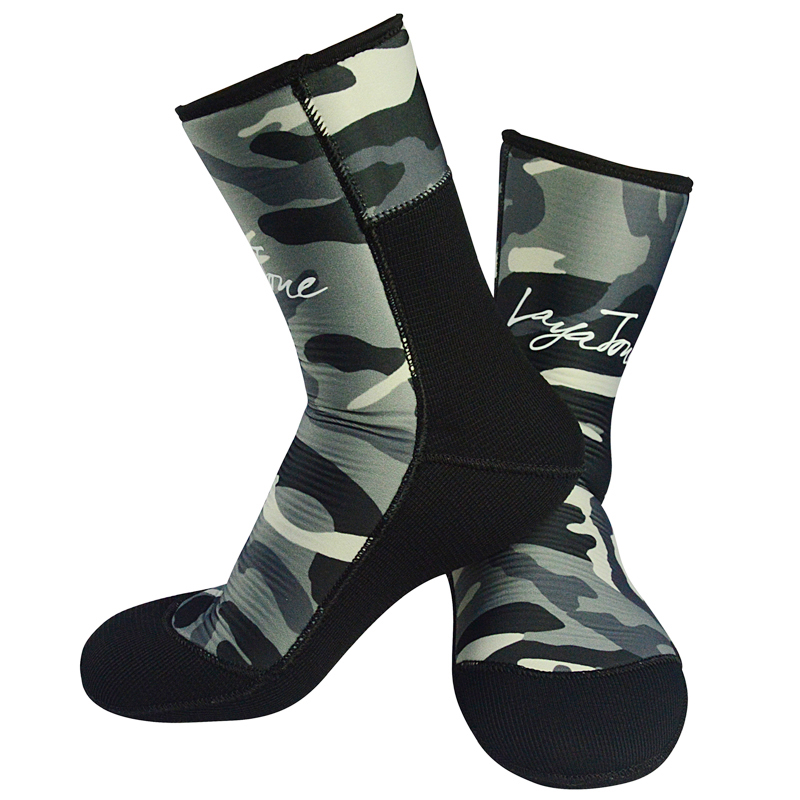 7mm Neopren Tauchen Socken Flossen Stiefel Männer Frauen Für Unterwasser Jagd Speerfischen Winter Angeln Schwimmen Tauchen Warm Halten