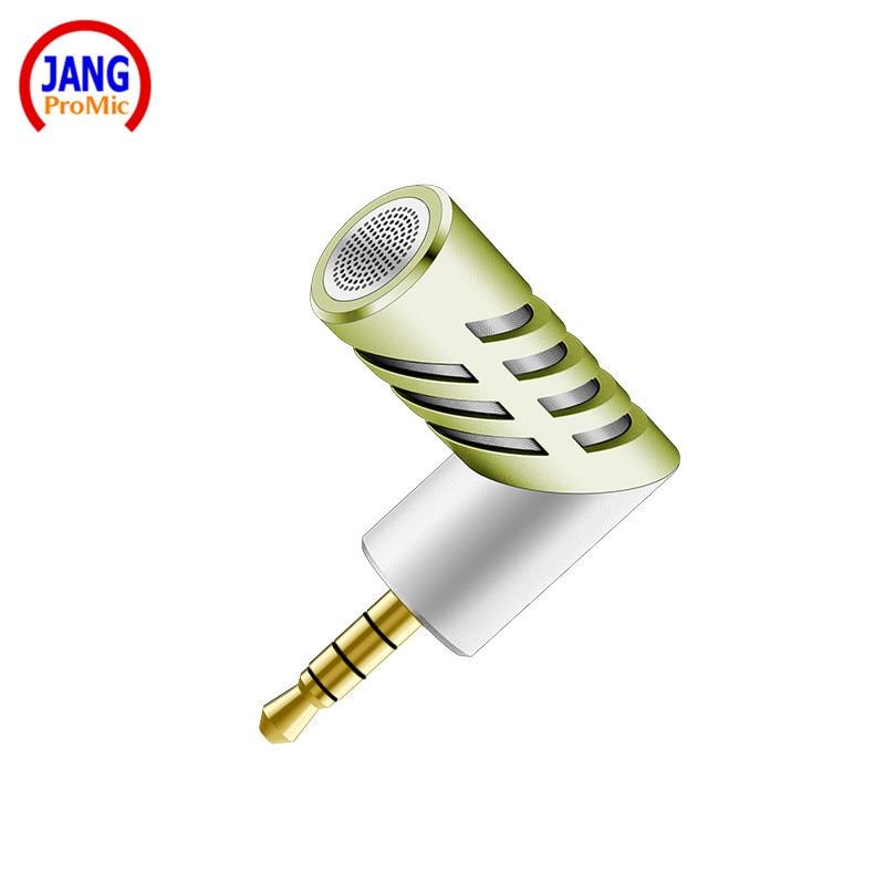 Micrófono de condensador de micrófono de teléfono móvil recto de - Audio y video portátil