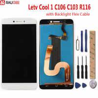 Leeco Letv Kühlen 1 C106 C103 R116 LCD Display + Touch Screen Neue Digitizer-bildschirm Glas Panel Für Letv Dual leeco Coolpad Cool1
