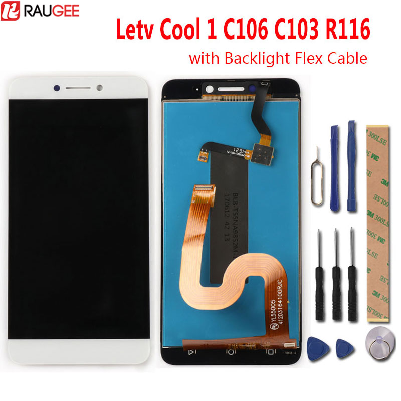 Leeo Letv Cool 1 C106 C103 R116 écran LCD + Écran Tactile Nouveau Numériseur de Panneau De Verre D'écran Pour Letv Double leeco Coolpad Cool1