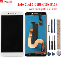 Leeo Letv Cool 1 C106 C103 R116 LCD Display+Touch Screen New Digitizer Screen Glass Panel For Letv Dual Leeco Coolpad Cool1