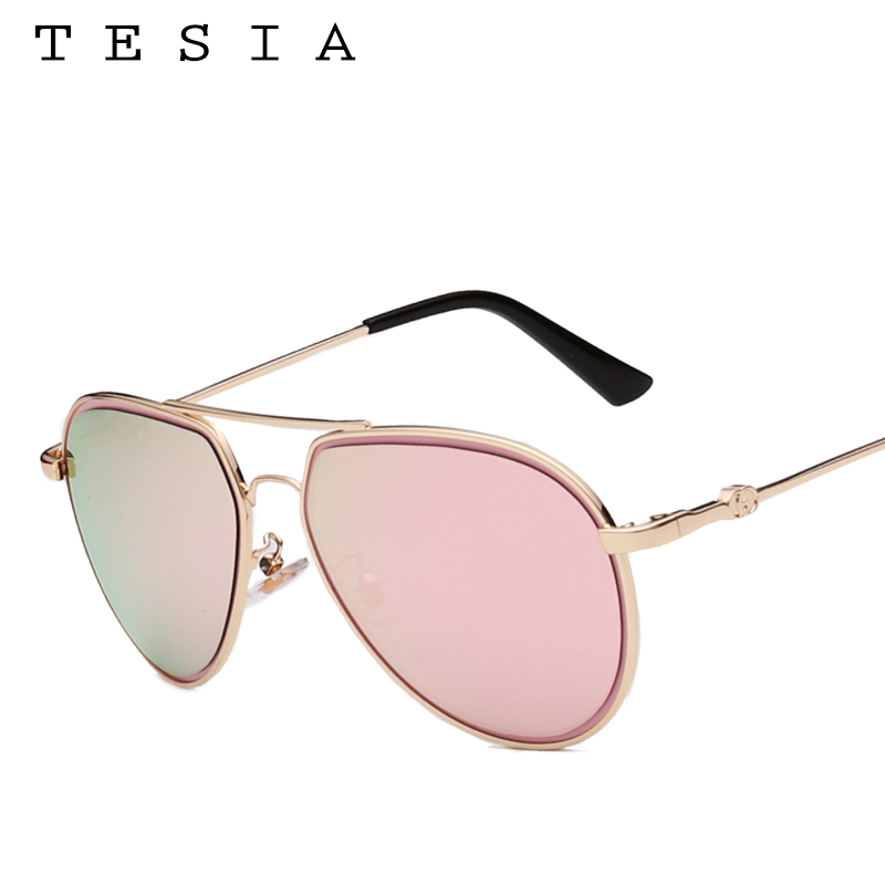 d75062c0b TESIA Circle Aviation Sunglasses Women Mirror Sun Glasses UV400 Fashion  Female Shades Lunette T988. US $3.97. TESIA cateye ...