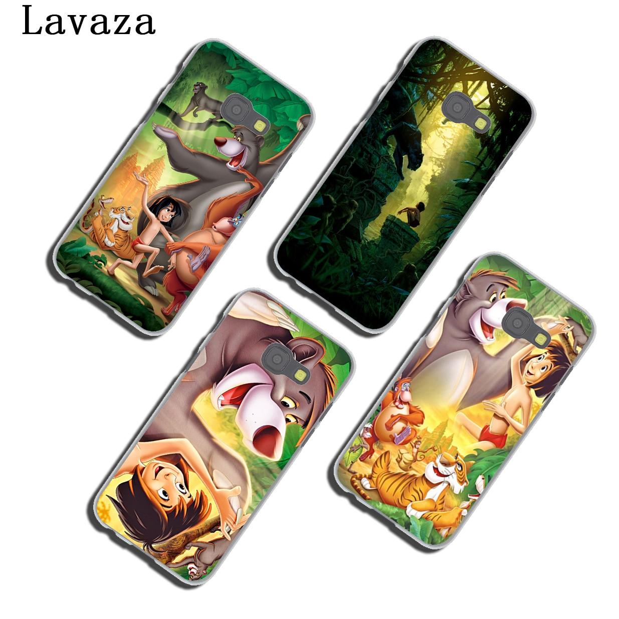 Lavaza Cartoon The Jungle Book Phone Shell Case for Samsung Galaxy A3 A7 A8 A5 2018 2017 2016 2015 Note 8 5 4 3 Grand Prime 2