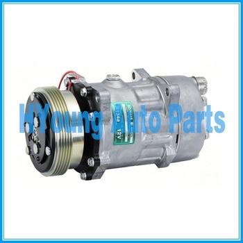 Авто ac компрессор для SANDEN SD7H15 6453NR FIAT 2.8lt DSL Санден SD7H15 7882 12 V 5PV 117 мм хто R134a 198137 98462134