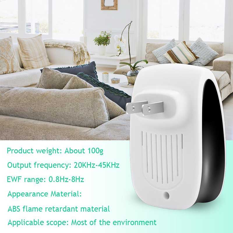 Electronic Ultrasonic Mosquito Killer USEU plug Reject Bug Mosquito Cockroach Mouse Pest Reject Magnetic Killer Repeller outdoor indoor (18)