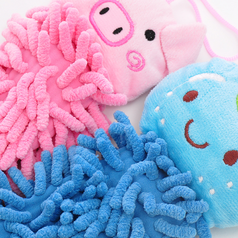 New Cute Kitchen Towel Hanging Microfiber Soft Hand Towels Kids Enjoy Clean  And Dry Hands For Kitchen Bathroom Cartoon Cloths In Hand Towels From Home  ...