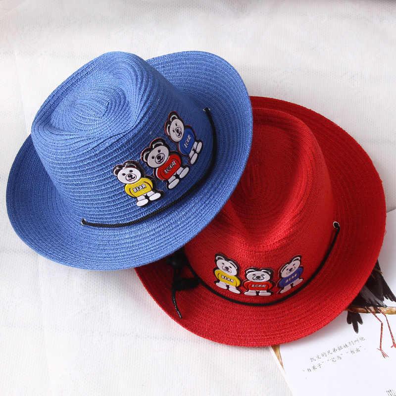 c8b5aecc058 ... jujuland Children s Caps For Boys Girls Baby Sun Hat Animals Bears  Patch Cool Cap Cute Kids ...
