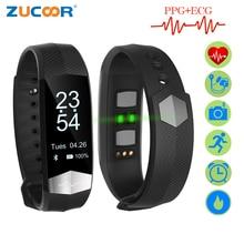 Фотография ZUCOOR Smart Bracelet Fitness ECG PPG Pulseira Inteligente RB76 Blood Pressure Tonometers Wristband Pedometer Activity Tracker