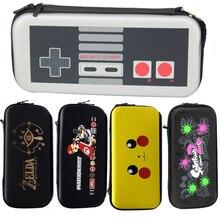 Nintend Anahtarı NS Anahtarı Oyun Konsolu için Taşıma çantası Sert Kutu Çanta Için Zelda Desen Taşınabilir saklama çantası