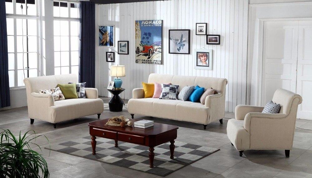 Contemporary Modern Storage Velvet Fabric Sofa Beige Living Room Set 1 2 3